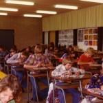 1977 Brugklas in tekenlokaal