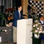 Minister Jo Ritzen van O.C. en W. opent de prijsuitreiking
