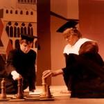 Schakende raadsheren (Ruud Rennen en Kees Gobbens)