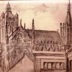 Uitzicht tekenlokaal Michel Mudde