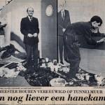 5 Burgemeester Houben poseert voor Erwin