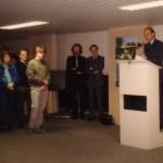 Burgemeester Houben opent de tentoonstelling