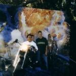 Het team in pretpark Universal studios 2