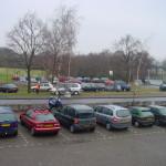 Open dag 2002 drukte met parkeren
