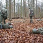5.Schminken in camouflagekleur