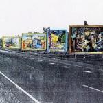 Artist's impression vanuit Roosendaal