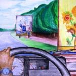 Van Gogh langs de weg 2