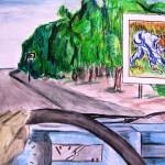SO opdracht Van Gogh langs de weg 4