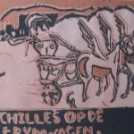 2 Achilles op zijn strijdwagen