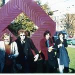 1971 Essen, vlnr. Nies den Engelse, ik, Guus Ong, Jos Spronck