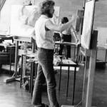 1972 Schilderen bij Nico Molenkamp