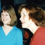 Pauline en staatssecretaris Netelenbos