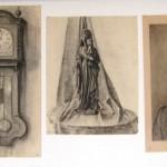 Enkele academie werken van Virgo zoals nu te zien in de tekenlokalen