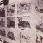 Buitentekeningen tentoongesteld