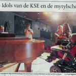 Foto uit BN/DeStem van de repetities