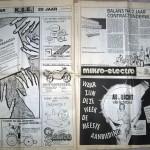 Dubbele pagina met diverse advertenties