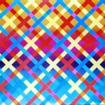 Spel van kleur en lijn in Kamiekes eindwerk