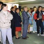 Veel drukte bij de opening van de expo