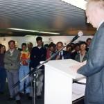 Stem hoofdredacteur Harro Coumans opent de tentoonstelling