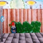 graffiti derde klas 3