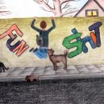 graffiti derde klas 5