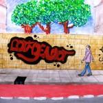 graffiti derde klas 6