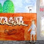 graffiti derde klas 7