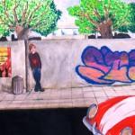graffiti derde klas 8