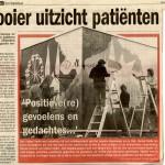 Artikel in het Stadsblad
