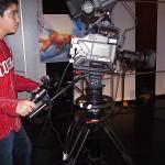 Als volleerd cameraman aan de slag