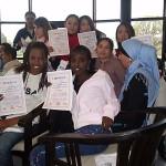 Aan het eind iedereen een certificaat!
