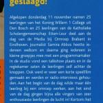 Dagverslag in Mira Magazine