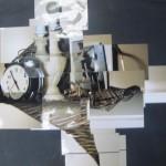 Kubistische verwerking nachtkastje m.b.v. foto's
