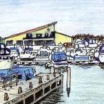 Leur, Westpolderplas jachthaven