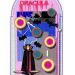 Flipperkast 'Dracula'
