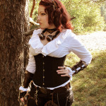 Anouk, Steampunk photoshoot 02