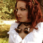 Anouk, Steampunk photoshoot 03