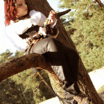 Anouk, Steampunk photoshoot 05