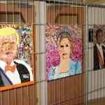 Een kijkje op het tentoongestelde werk