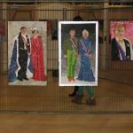 Een indruk van het tentoongestelde werk