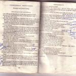 Mijn tekstboekje met aantekeningen