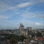 Uitzicht op de St.Jan vanaf de toren van het Jheronimus Bosch Art Centre