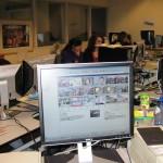 H4 aan het werk op de redactie van BN/DeStem