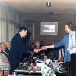 1984 Afscheid collega tekenen Jan van den Brink