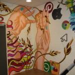 Muurschildering KSE 2014