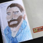 25. Interpretatie van een van Vincents zelfportretten