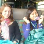 7.In de trein naar Straatsburg