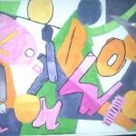 Brugklas: schilderij