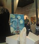 Nuenen, lunch en aanbieding schilderij in het Vincentre