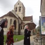 Auvers, rondleiding bij de kerk